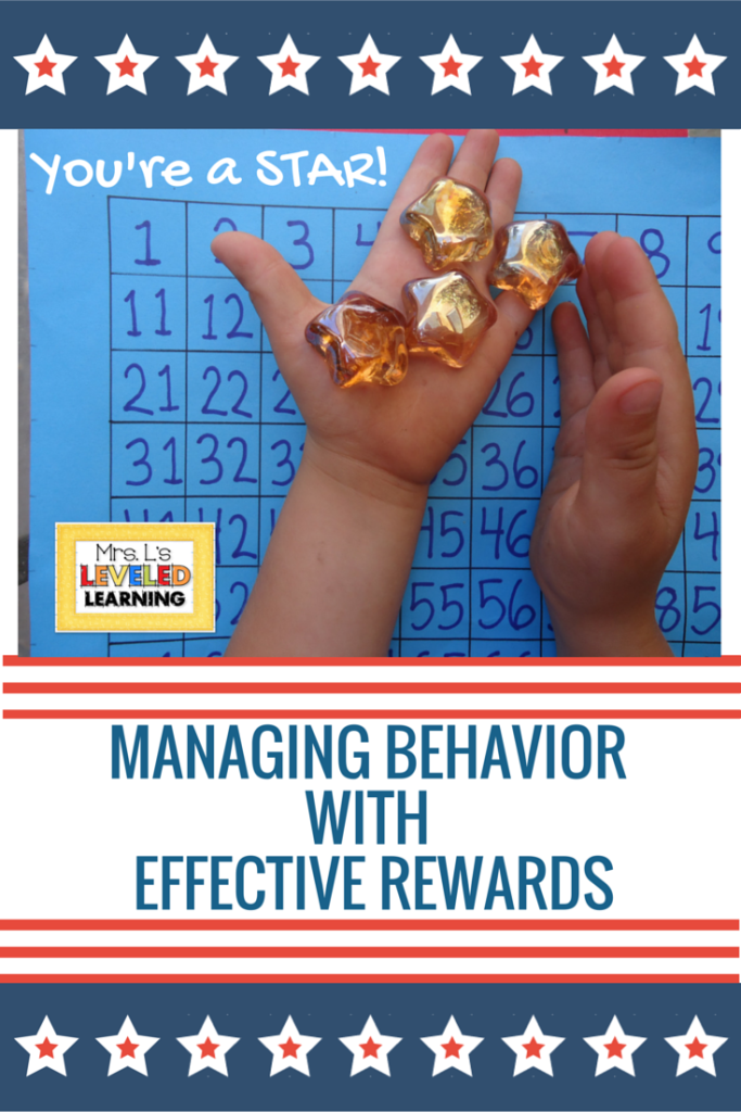 Managing Behaviorwith Effective Rewards