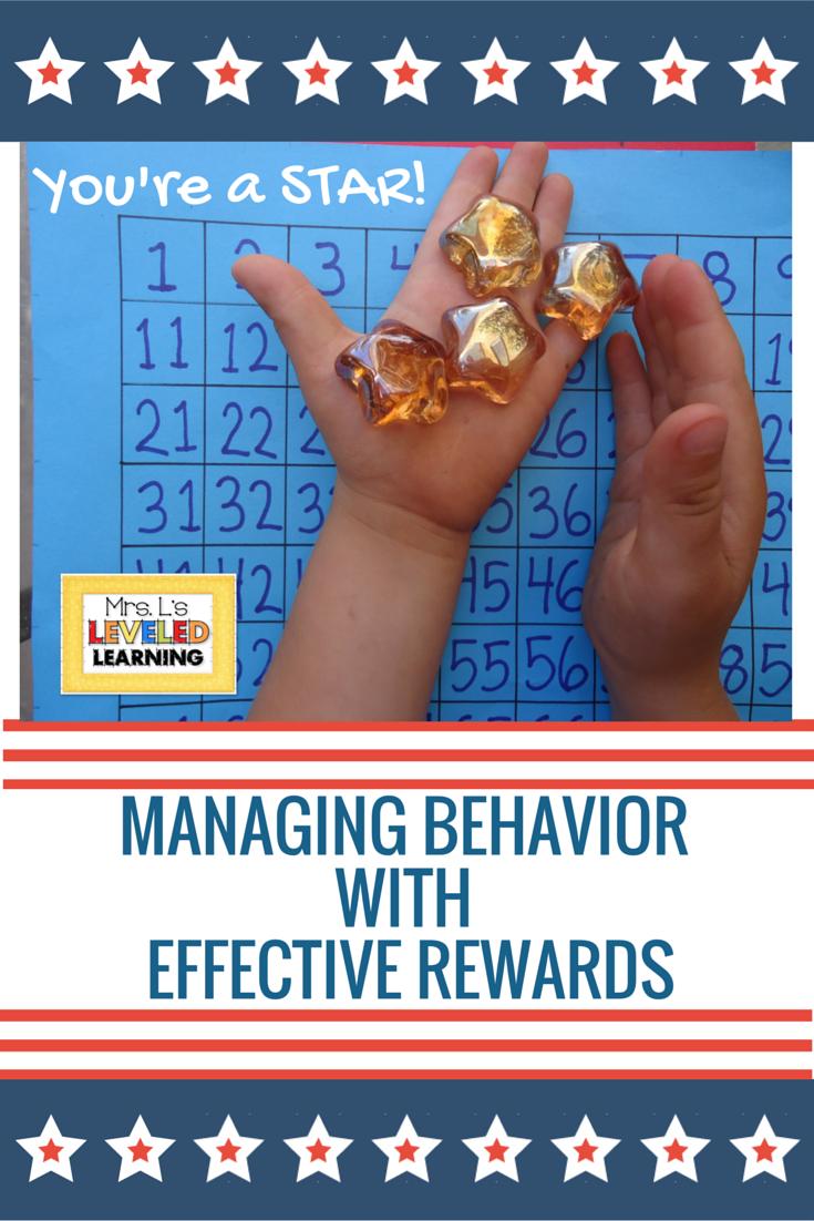 Behavior Management with Effective Rewards