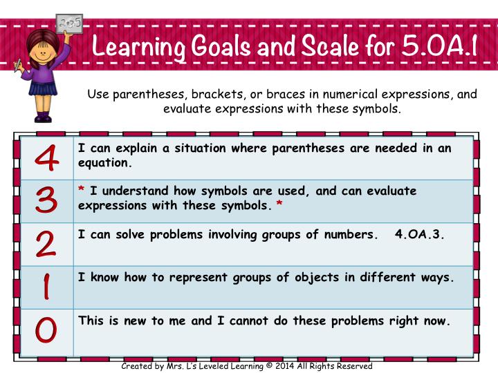 5OA1 CC Math