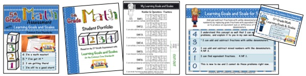 5th Grade Marzano Math Bundle