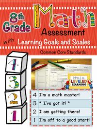 8th Math Marzano Assessment
