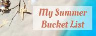 Blog Blowout Bucket List