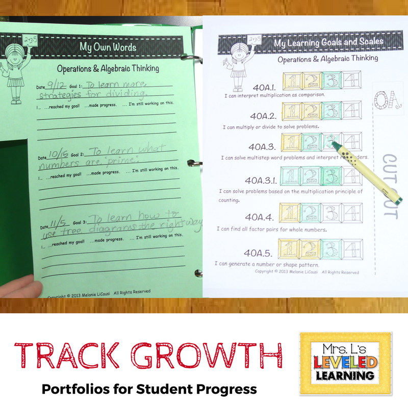 Tracking Student Growth for Marzano Evaluations