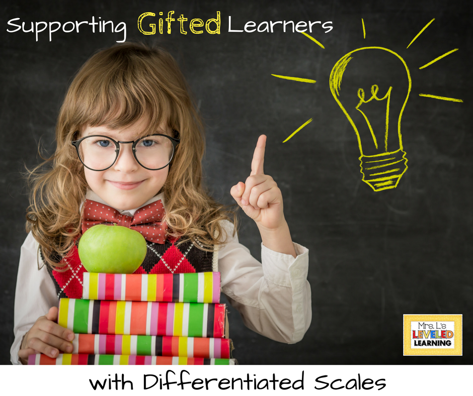 Supporting Gifted Learners with Differentiated Scales