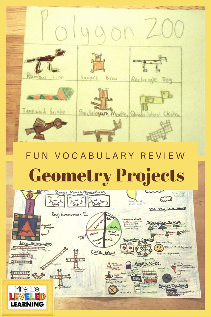 Geometry Activities for Vocabulary Mastery