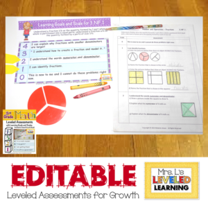 leveled assessments support growth mindset