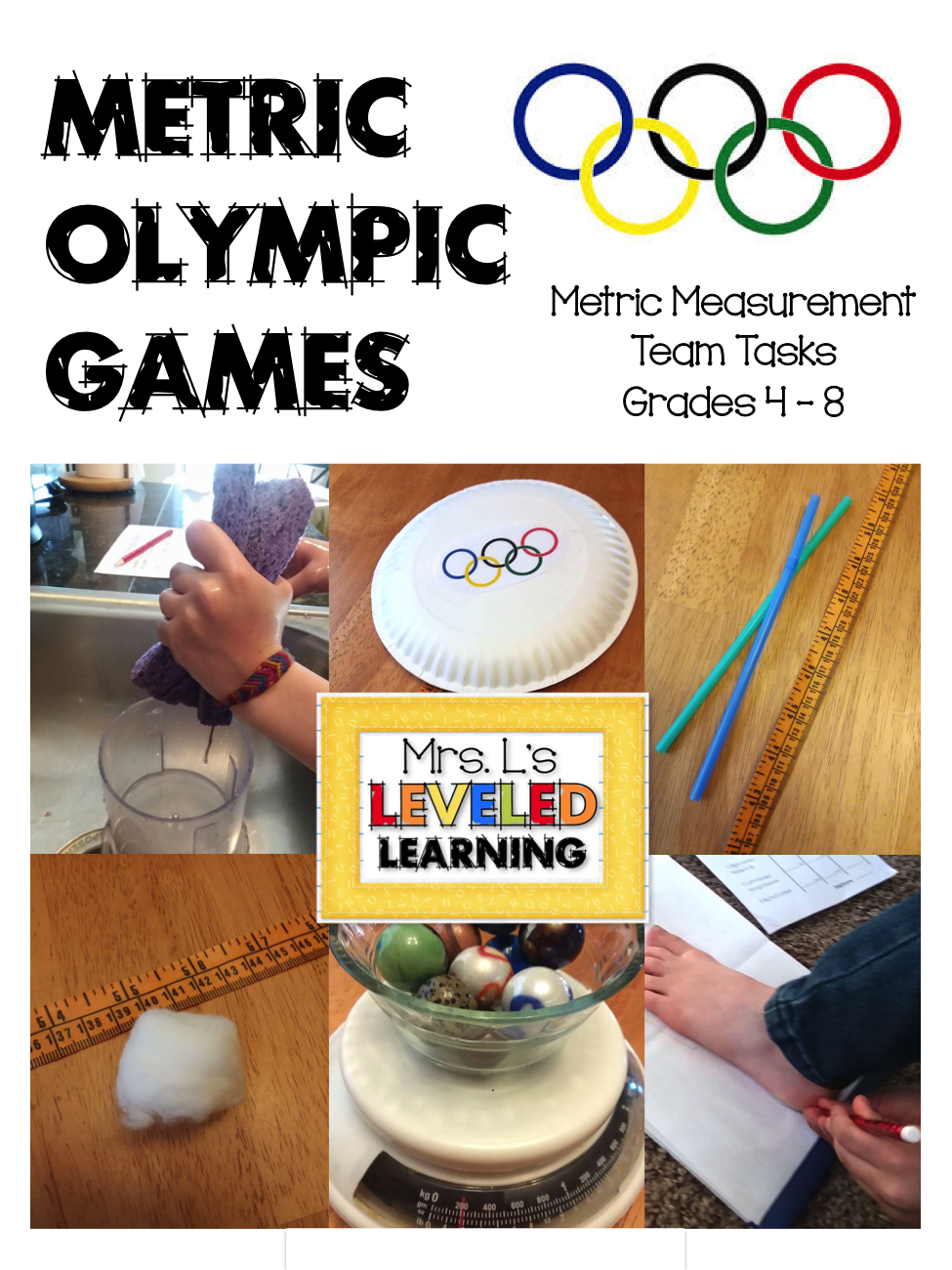 Metric Olympic Math Games in the Classroom