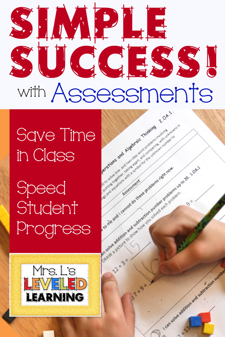 Assessment that Saves Classroom Time