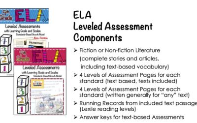 ELA Leveled Assessments for Reading Literature & Information