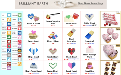 Valentine's Day Origami Projects